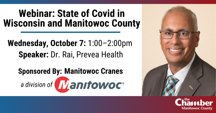 Webinar: State of Covid in Wisconsin and Manitowoc County