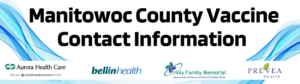 Manitowoc County Vaccine Contact Information
