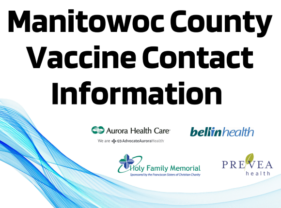 Vaccine Contact Information for Manitowoc County