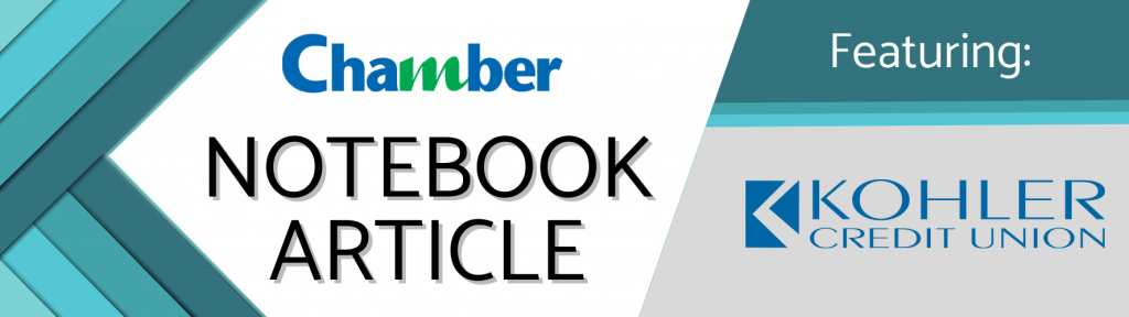 Kohler Credit Union Chamber Notebook - Manitowoc County